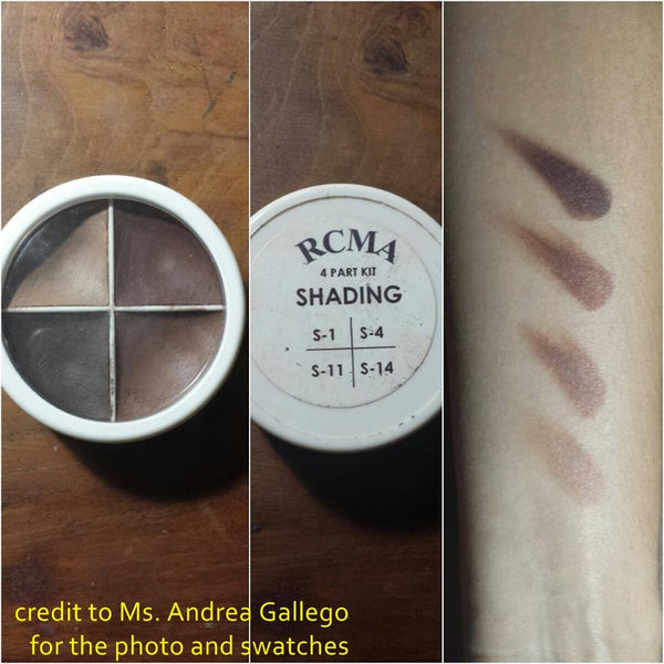RCMA 4-Part Color Kit - Shading