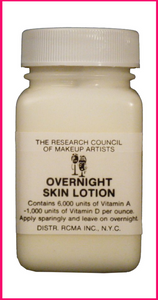 RCMA Overnight Skin Lotion