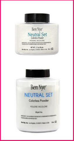 PREORDER Ben Nye Neutral Set Colorless Powder