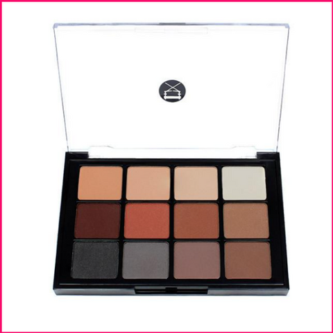 PREORDER Viseart 12-Color Eyeshadow Palette - 01 Matte