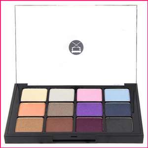 Viseart 12-Color Eyeshadow Palette - 03 Bridal Satin