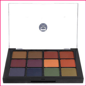 PREORDER Viseart 12-Color Eyeshadow Palette - 04 Dark Mattes