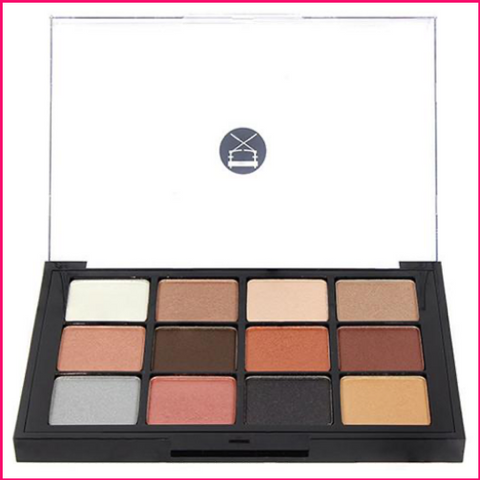 Viseart 12-Color Eyeshadow Palette - 05 Sultry Muse