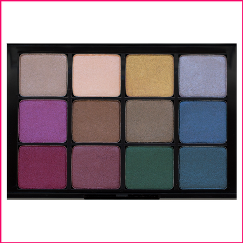 PREORDER Viseart 12-Color Eyeshadow Palette - 09 Bijoux Royal
