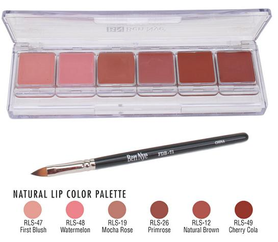 PREORDER Ben Nye Natural Lip Colour Palette
