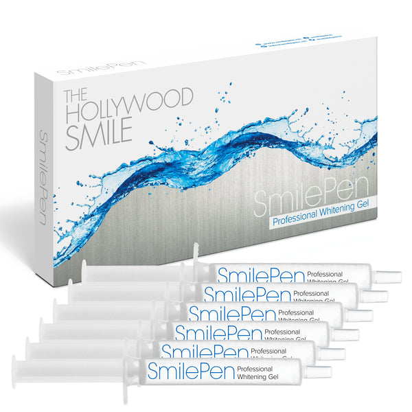 Smile Pen Whitening Gel Refill Kit 6x 5ML