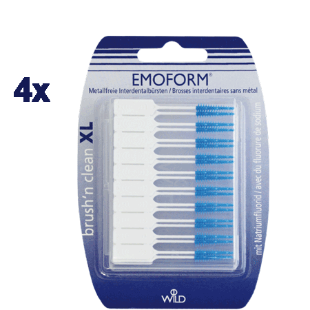 Emoform Brush n clean XL 200 Stück, Aktion
