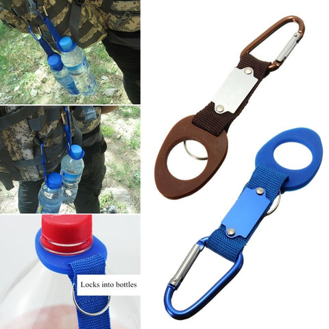 Carabiner Water Bottle Holder Clip