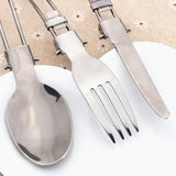 3PCs Outdoor Tableware Camping Set