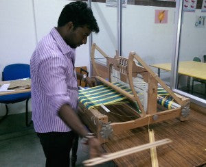 Satya Special school adds new looms for therapy