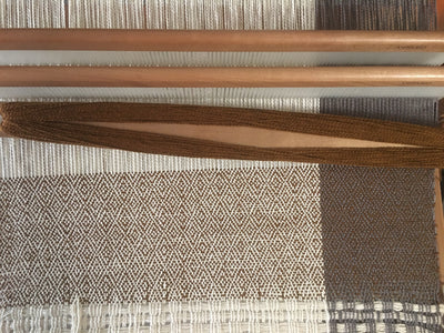 Diamond twill on Rigid heddle loom