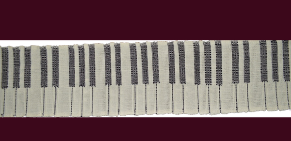 Piano keyboard scarf!