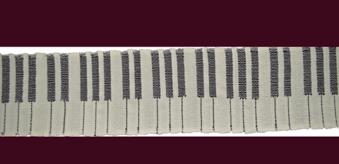 piano keyboard scarf