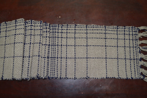fibonacci scarf on rigid heddle loom1