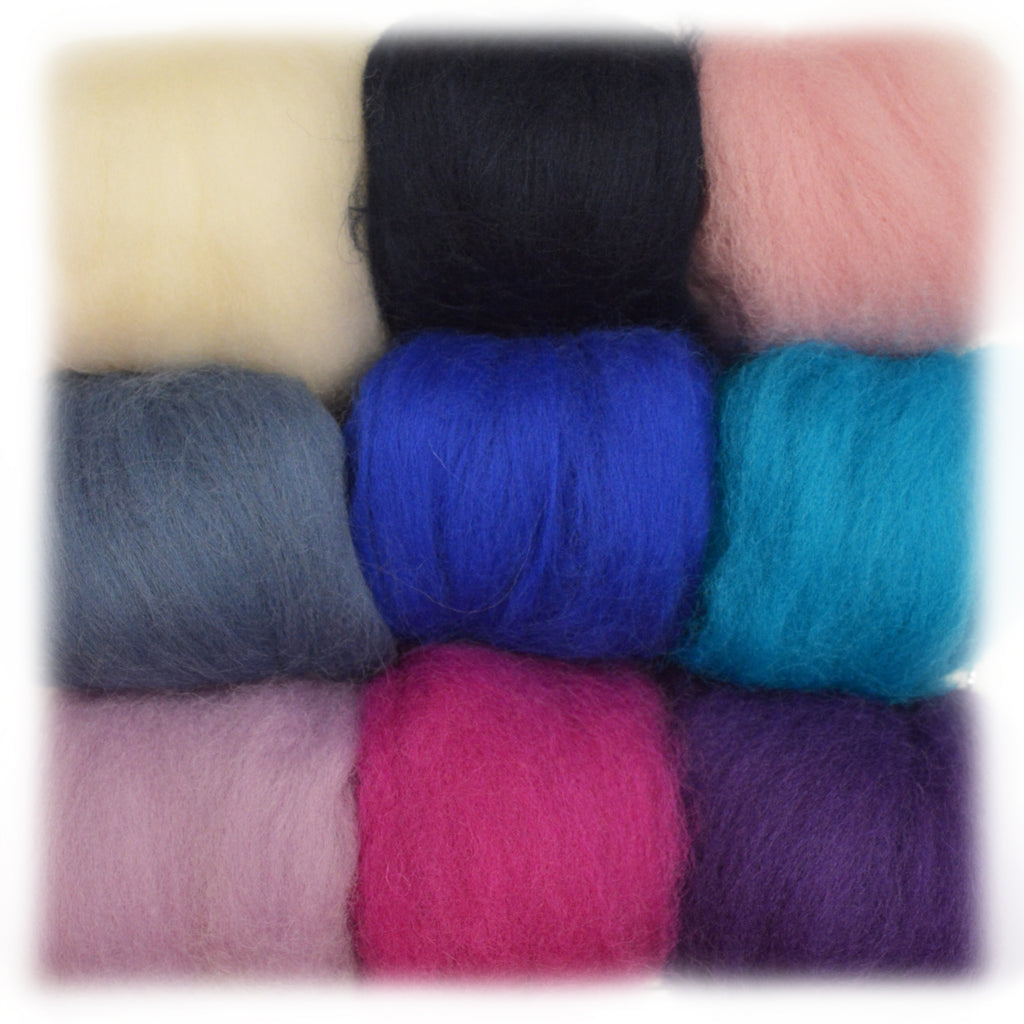 Corriedale  Wool Packs of 90 gms