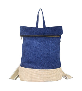 Claire NDBlueDenim Medium Back Pack