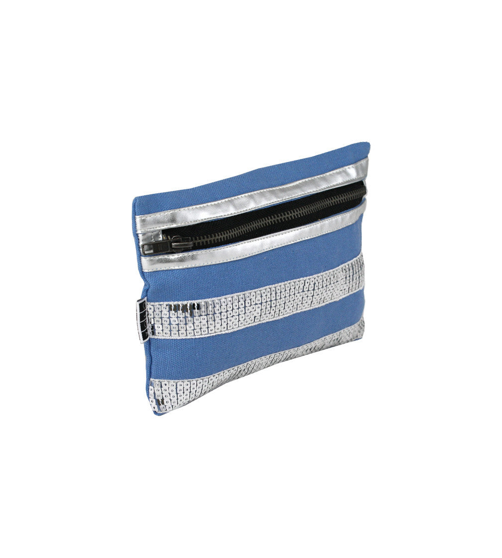 YOLO Womens Electra SDustyBlue Small Pouch
