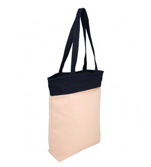 YOLO Jenny Canvas Fashion Tote Bag in Make Up