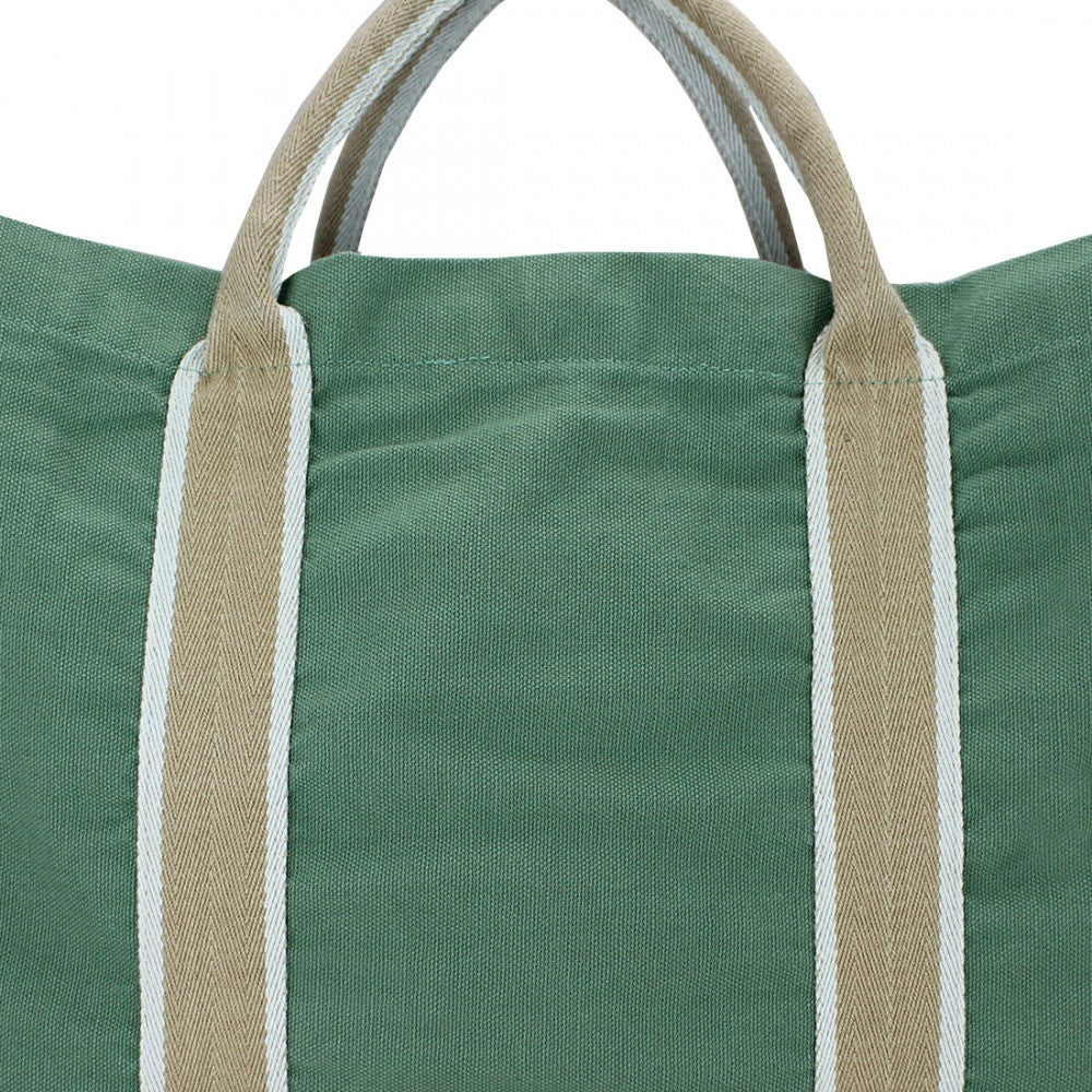 YOLO Lucas DustyLightGreen Fashion Tote Bag