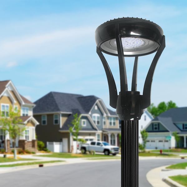 The H-01 LED Post Top- Superior Light Distribution for Landscapes