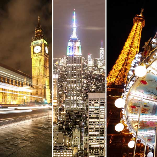 How Street Lighting Has Created a Unique Style for the Fashion Capitals of the World: Paris, London and New York