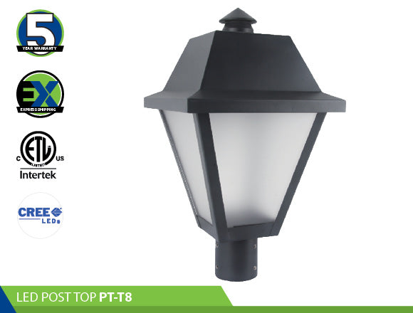 LED POST TOP: PT-T8