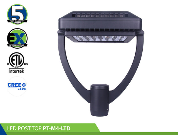 LED POST TOP: PT-M4-LTD