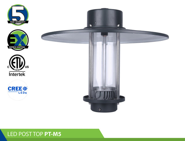 LED POST TOP: PT-M5