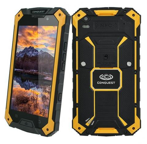 Conquest S6 Pro Rugged Smartphone