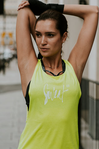 BXR Sweat Vest | Yellow