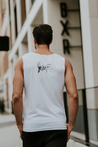 BXR Sweat Vest | White