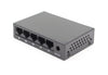 CA-F5  5-Port Fast Ethernet Commercial Grade Metal Switch - Syncom Technologies