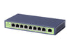 CA-F9P-96X  8-Port Fast Ethernet Commercial Grade Metal Switch - Syncom Technologies