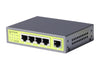 CA-G5  5-Port Gigabit Commercial Grade Metal Switch - Syncom Technologies