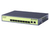 CMA-G10SFP  8-Port Gigabit Rack Mount SFP Fiber Switch, 2 RJ45 uplinks - Syncom Technologies