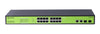 FM18P-250 16 Port Web Managed PoE+ Switch (250W), 2 Gigabit Combo Ports - Syncom Technologies