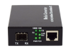 CMA-GSFP 10/100/1000Base-T to 1000Base Gigabit SFP Fiber Media Converter - Syncom Technologies