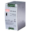 JDR-120-48 120W, 48V DC Industrial Power Supply, Din Rail Mount - Syncom Technologies