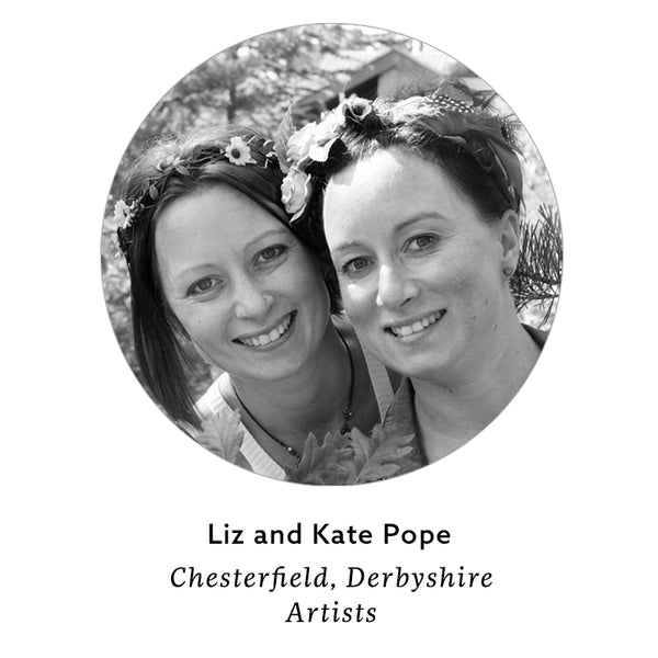 Meet the artist: Liz and Kate Pope