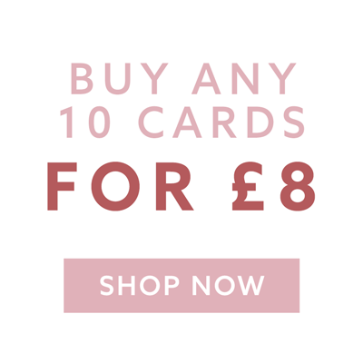 10 Cards for £8