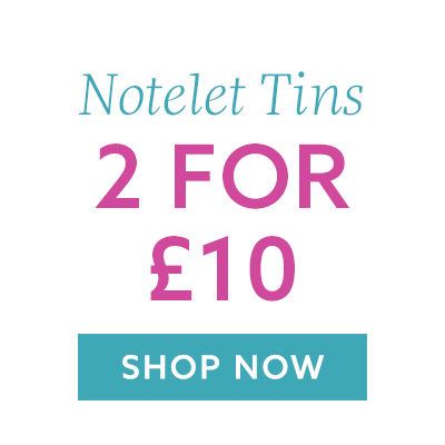 2 Notelet Tins for £10