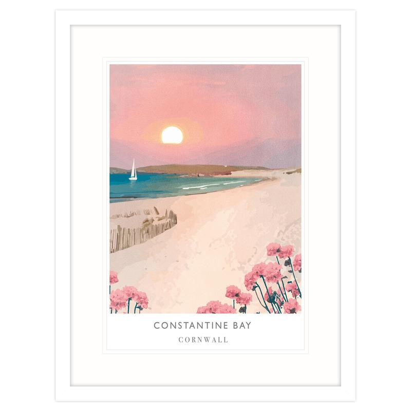 Constantine Bay travel art print