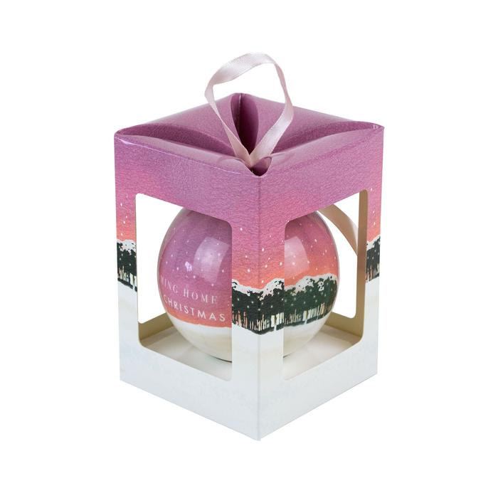 Limited Edition Coming Home For Christmas Cornwall Bauble