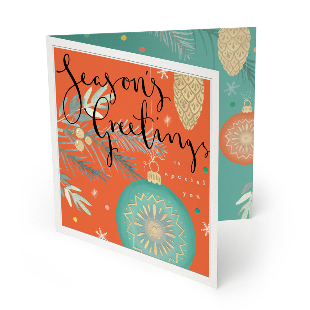 Our range of luxury Christmas cards are made from 100% recycled paper
