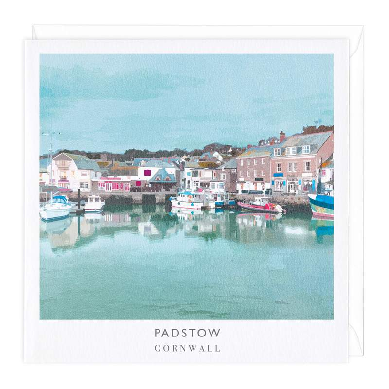 Padstow Travel Art Card
