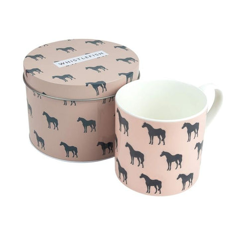 Peach-Pony-Mug-Art-Gift-Tin-Whistlefish