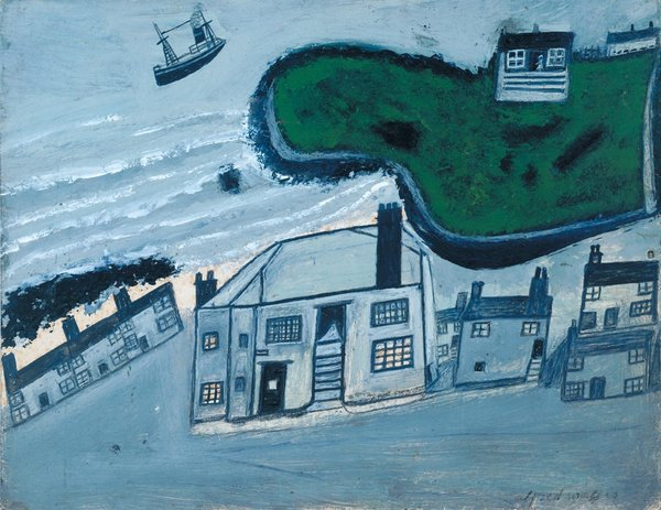 Alfred Wallace painting of St Ives