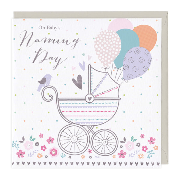 On Baby's Naming Day Card