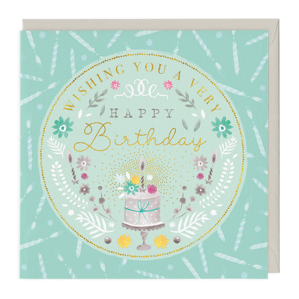 Wishing You A Very Happy Birthday Card