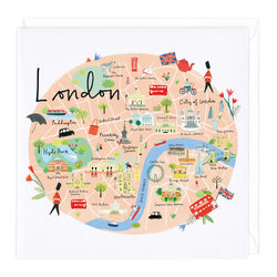 London Map Card